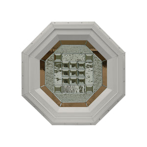 Park Avenue Stationary Octagon Window Clay