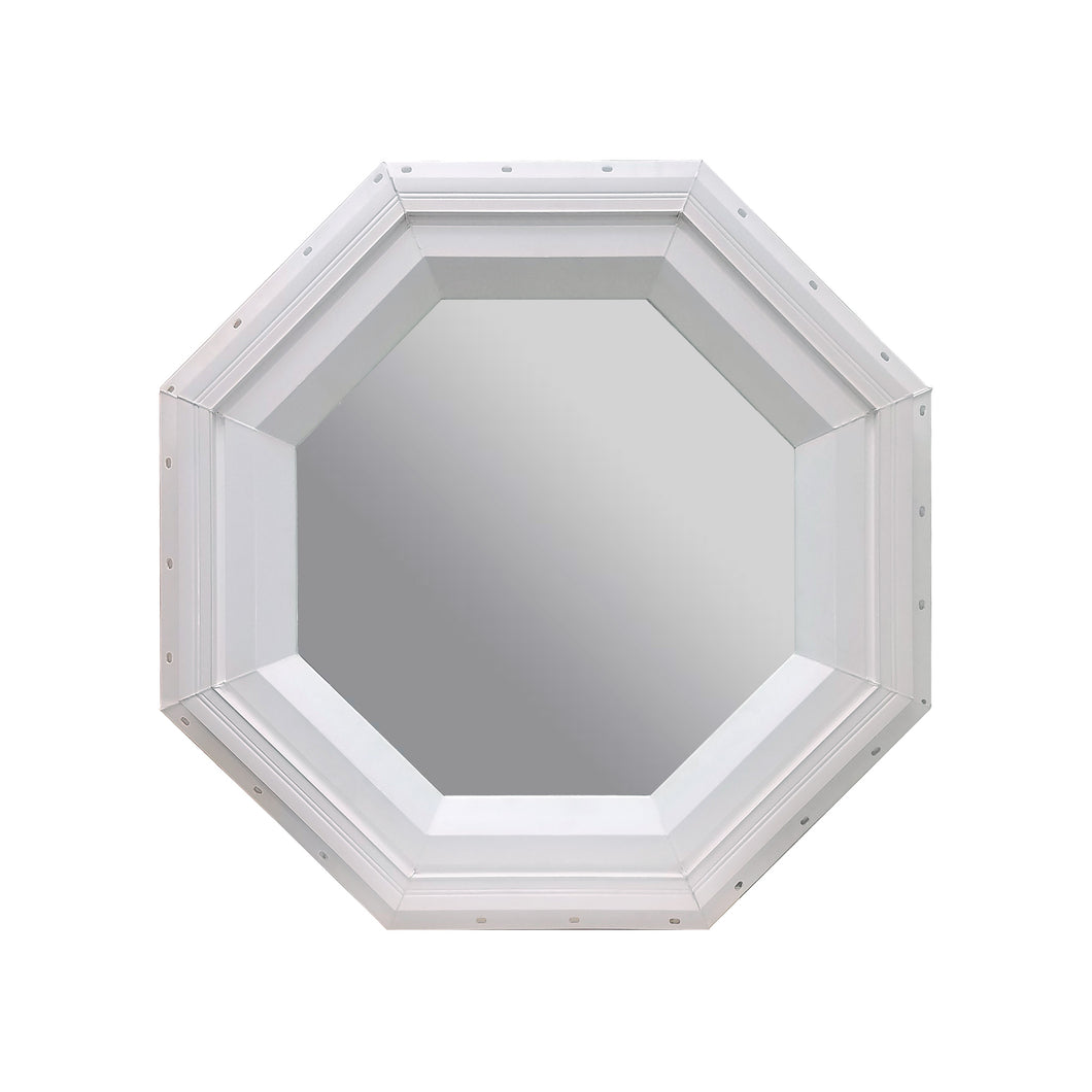 Clear Stationary Octagon Window