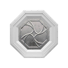 Bevelpane Octagon Window with Star Deco