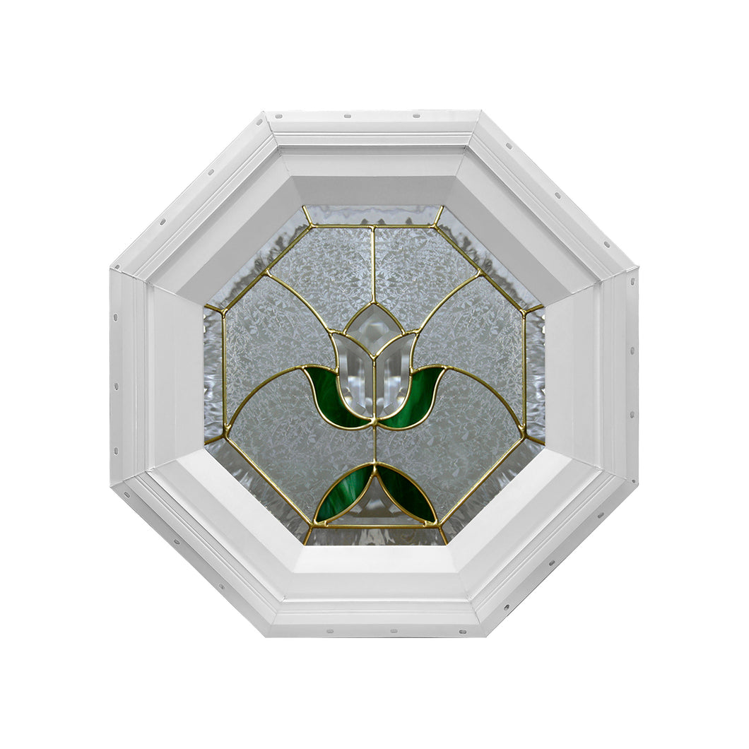 Tulip Stationary Octagon Window