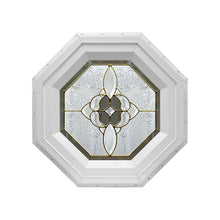 Bevel Cluster Stationary Octagon Window