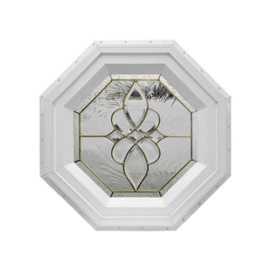 Taj Stationary Octagon Window