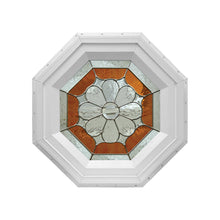 Petal Stationary Octagon Window