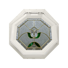 Tulip Venting Octagon Window Beige