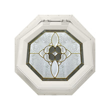 Bevel Cluster Venting Octagon Window Beige
