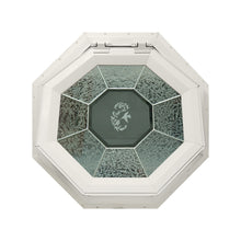 GC Hummingbird Venting Octagon Window with Zinc Caming Beige