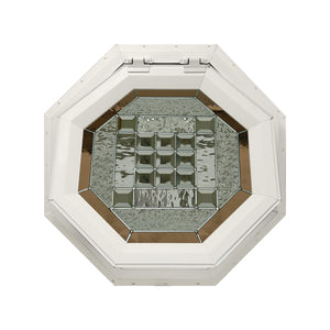 Park Avenue Venting Octagon Window Beige