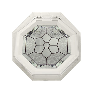 Windsor Decorative Venting Octagon Window with Zinc Caming