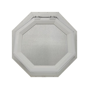 Clear Venting Octagon Window Clay