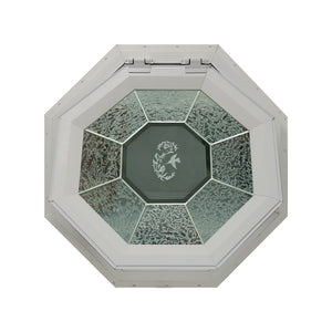 GC Hummingbird Venting Octagon Window with Zinc Caming Clay