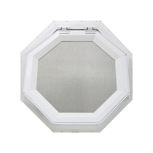 Clear Venting Octagon Window