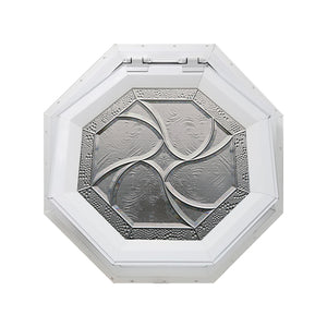 Bevelpane Venting Octagon Window with Star Deco