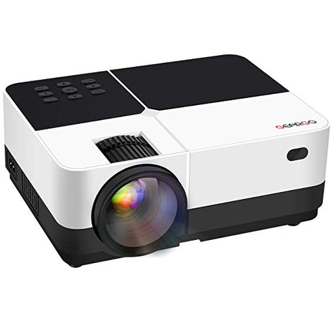 Smartphone compatible black and white home film projector