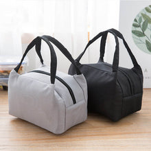 Load image into Gallery viewer, Insulated lunch bag in grey