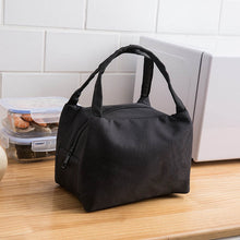 Load image into Gallery viewer, Insulated lunch bag in black