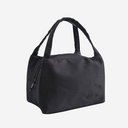 Insulated lunch bag in black