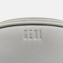 Load image into Gallery viewer, GENI grey makeup bag