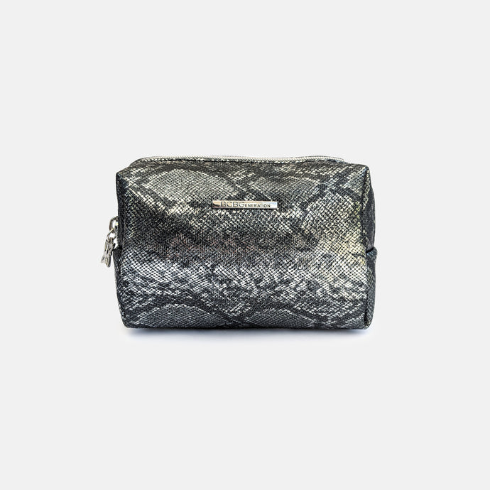 BCBGeneration snake pattern makeup bag