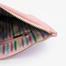 Load image into Gallery viewer, Arm candy faux leather pink pouch