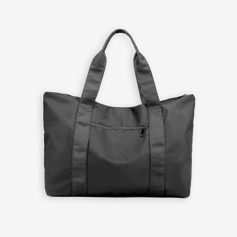 Weekend travel bag in grey