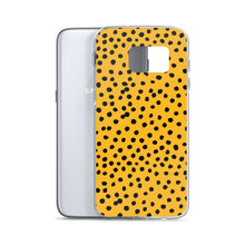 Load image into Gallery viewer, Samsung phone case in leopard print