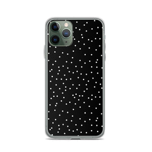 iPhone case in dots print
