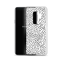 Load image into Gallery viewer, Samsung phone case in dalmatian print