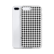Load image into Gallery viewer, iPhone case in gingham print