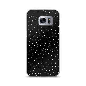 Samsung phone case in dots print