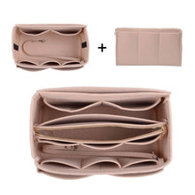 Load image into Gallery viewer, Handbag organiser insert in nude