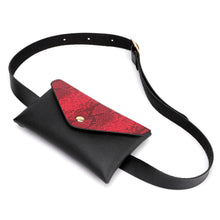 Load image into Gallery viewer, FREE faux snake leather bum bag