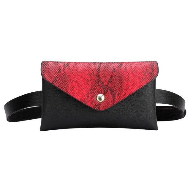 FREE faux snake leather bum bag