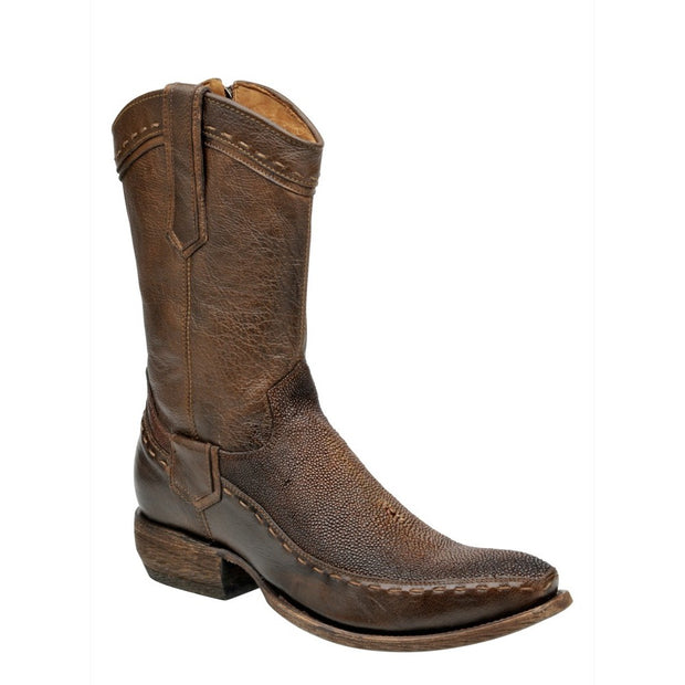 2D06MA Cuadra Stingray Cowboy Boots Woven And Rustic Finish