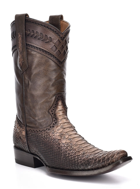 MEN'S CUADRA PYTHON SHORT POLISHED STRAW