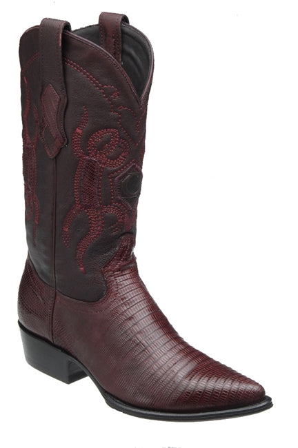 MEN'S CUADRA LIZARD PUNTAL TALL BURGUNDY