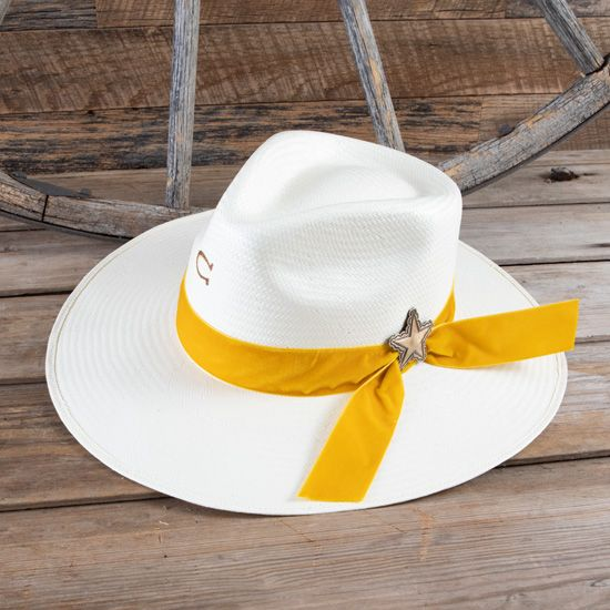 Charlie 1 Horse® Ladies' Lone Star Love Straw Hat
