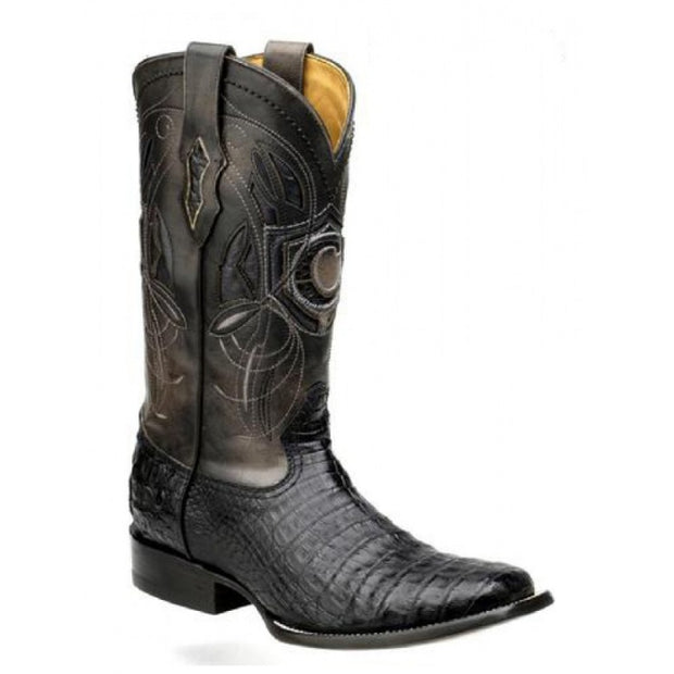 Cuadra Caiman Belly Pro Rodeo Black 2P02FY-BLACK