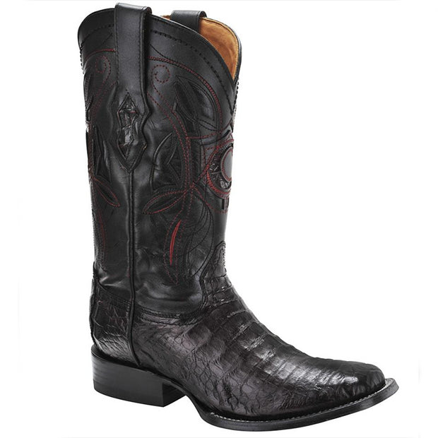 Cuadra Caiman Belly Pro Rodeo Black Cherry 2P02FY