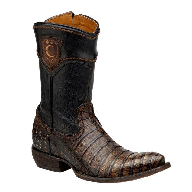 Cuadra Caiman Belly Roper Boot 2D02FY
