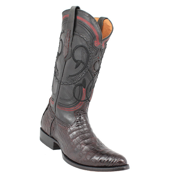 Cuadra Caiman Belly Western Boots Black Cherry 2C41FY-BLKCHRY