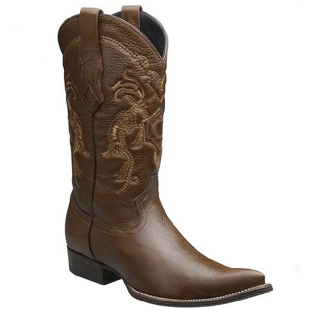 Cuadra Mens Genuine Deer Honey Chihuahua Y3VENI