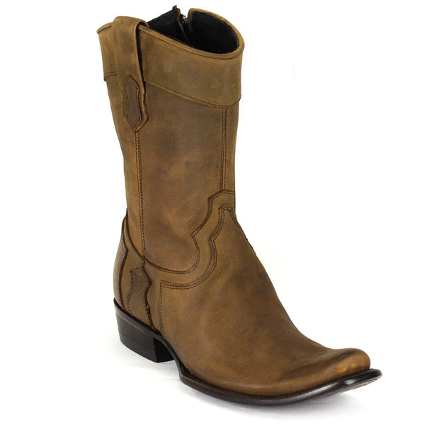 cuadra Leather Boots Carmel 1J03MKCARMEL