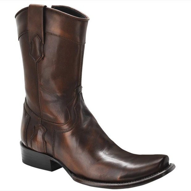 Cuadra Leather Brown Boots 1J06TF