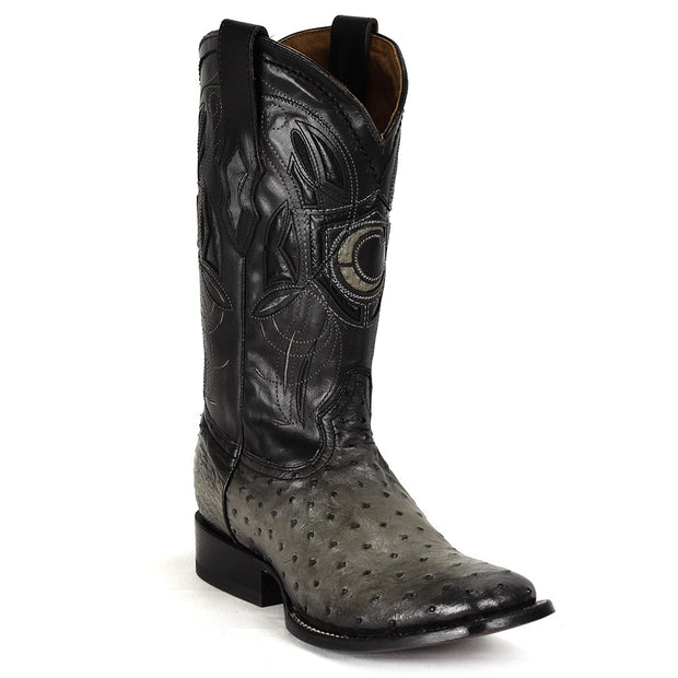 Cuadra Rodeo Ostrich Gray Boots 2P02A1-GREY