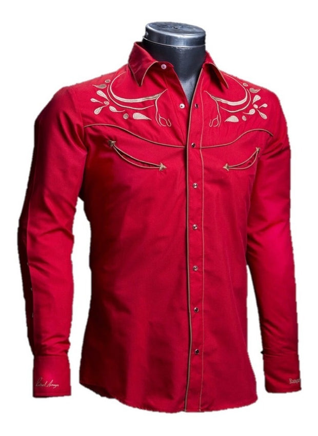Ranger's Men Shirts 080CA01 Red