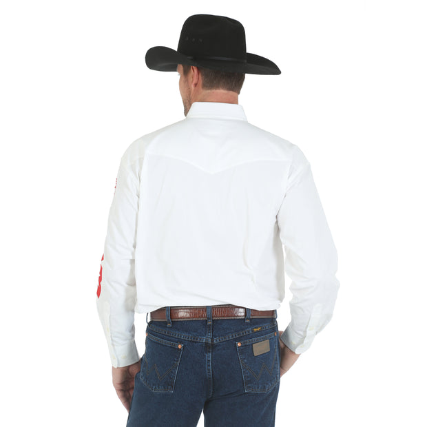 Wrangler® Logo Long Sleeve Shirt - MP2142W