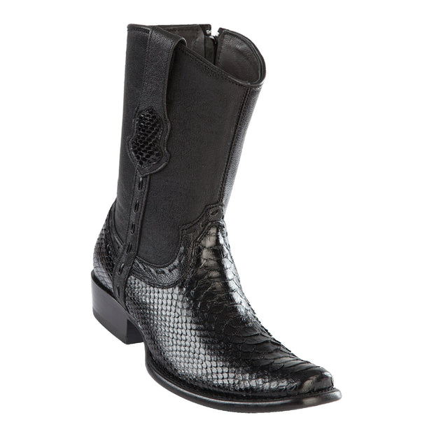 Men's Dubai Short Boot Genuine Python