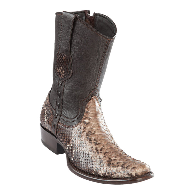 Men's Wild West Boot Dubai Short Boot Genuine Python