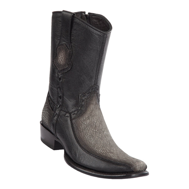 Men's Dubai Short Boot Genuine Shark with Deer