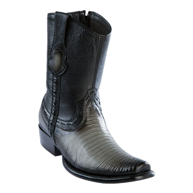 Men's Dubai Short Boot Genuine Teju